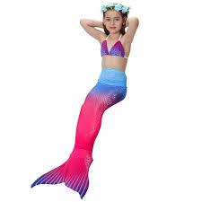 Mermaid Costumes Halloween Aliexpress Buy Children Mermaid Costume Mermaid Child
