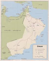 Map Of Abu Dhabi Map Of Oman