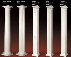 architectural elements fiberglass composite columns