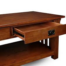 Two Drawer Coffee Table Solid Oak Two Drawer Coffee Table Free Shipping Today