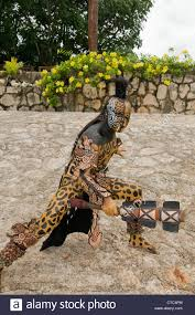 jaguar costume a maya sacred animal actor dancer in dios jaguar dress costume