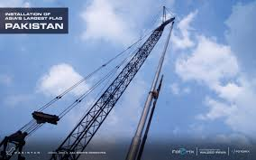 Oakistan Flag Asia U0027s Largest U0026 Tallest Pakistan Flag Installation Is Going On In