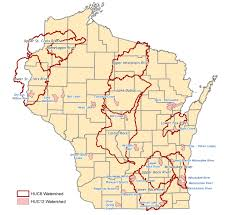 Wisconsin River Map by Watershed Projects Nonpoint
