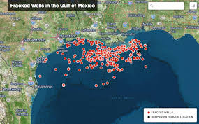 Florida Sinkhole Map by Environmental Horror Show Goes On With Potential Fracking In The Gulf