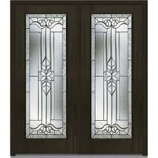no panel double door dark brown wood front doors exterior