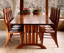 the mitchell trestle table handmade by gary weeks and company