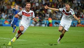 Mario Gotze Hairstyle Germany 1 0 Argentina Mario Gotze Scores World Cup Winner For