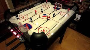 rod hockey table reviews sportcraft electronic rod hockey youtube