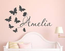 Wall Decals For Girls Bedroom Name Wall Decal Minnie Mouse Wall Decals Wall Decals