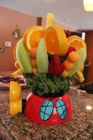 edibles arrangement diy edible arrangement use a of lettuce in place of flower