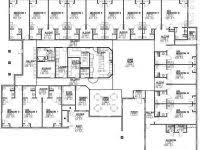 Assisted Living Facility Floor Plans Retirement Home Blueprints Homes Zone