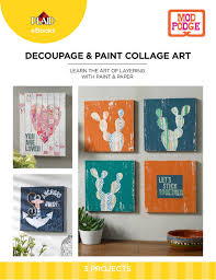 learn the art of layering with paint u0026 paper part 6 blog diy