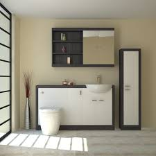 Fitted Bathroom Furniture White Gloss Hacienda 1500 Fitted Furniture Pack White Buy At Bathroom City