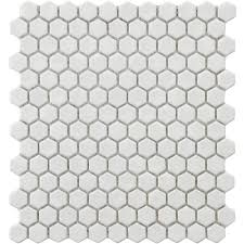 hexagon penny tile home pinterest penny tile grey grout