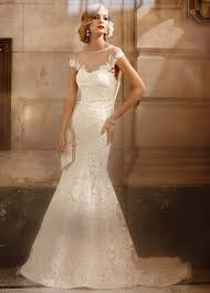 illusion neckline wedding dress david s bridal tulle trumpet wedding dress with illusion neckline