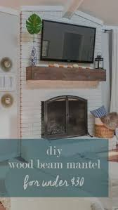 Wood Mantel Shelf Diy by Rough Hewn Wood Fireplace Mantel Woods Mantle And Mantels