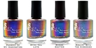 kbshimmer winter 2013 collection press release lacquer me silly