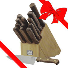 chicago cutlery 14 piece walnut tradition knife set helton tool
