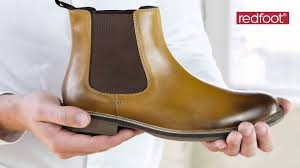 mens leather chelsea boots uk youtube
