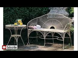 Solid Wood Patio Furniture by Metal Outdoor Furniture Solid Wood Furniture Youtube