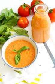 cuisine au blender gaspacho tomate basilic en 5 minutes au blender sour
