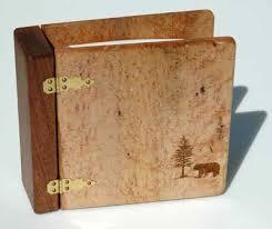 wood photo album photo albums birdseye maple wood