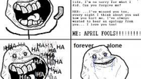 Forever Alone Meme Origin - forever alone valentines day meme valentine gift ideas
