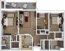 Floor Plan Of 2 Bedroom Flat Three Bedroom Flat Layout Google Search Houses Apartments