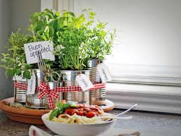 Easy Herbs To Grow Inside Grow Your Own Kitchen Countertop Herb Garden Hgtv