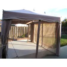 Orchard Supply Outdoor Furniture Pacific Casual 11 U0027 X 9 U0027 Cabin Style Single Tiered Gazebo Model