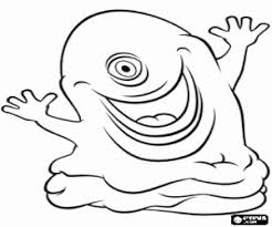 monsters aliens coloring pages printable games