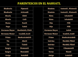 imagenes de familias aztecas familia en náhuatl indigenas de mexico pinterest familias