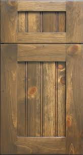Knotty Pine Shaker Door With Beaded Panel Rustic Vancouver - Rustic pine kitchen cabinets
