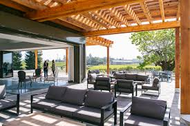 emeritus vineyards unveils new tasting room with a modern flair