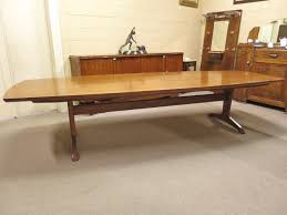 Antique Boardroom Table Mid 20th Century Teak Boardroom Table Nostalgia Antiques