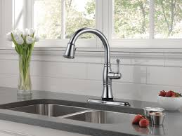 Delta Hands Free Kitchen Faucet Kitchen Delta Touch Faucet Touchless Inspirations Including Images