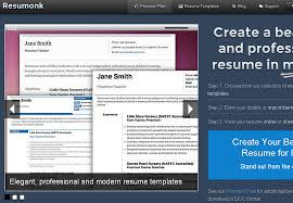 Create Professional Resume Online by 11 Free Online Tools To Create Professional Resume Smashingapps Com