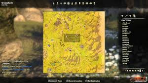 Elder Scrolls Map Greenshade Treasure Map Ii Location The Elder Scrolls Online