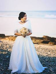 robe mariã e simple clara wedding gown by harley ruedas from cebu city