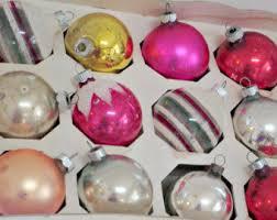 vintage sears ornaments etsy
