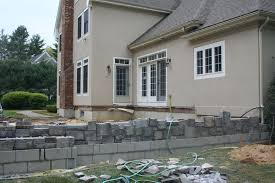 Building A Raised Patio Raised Patio Masonry Picture Post Contractor Talk