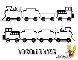 train coloring worksheets