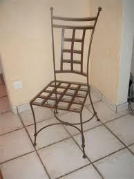 chaises fer forg les trésors de safi chaises en fer forge