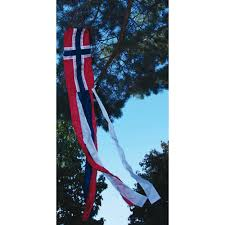 norwegian flag windsock