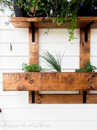 Home Vertical Garden by Diy Vertical Herb Garden And Planter 2x4 Challenge