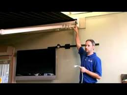 Weatherpro Power Awning Manual Override For Loss Of Power Service Video Marygrove