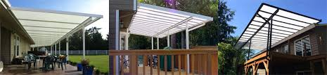acrylic patio covers patio cover kits