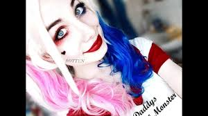 halloween make up joker harley quinn u0027s halloween make up the joker youtube