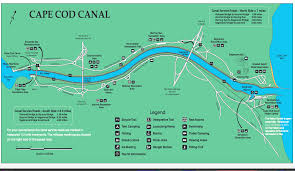 Map Of Cape Cod Ma Cape Cod Canal Trail Great Runs