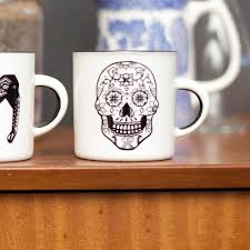 Cheap Home Decor Online South Africa Sugar Skull Coffee Mug Utique The Online Gift Boutique